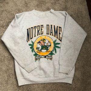 Vintage University of Notre Dame Crewneck